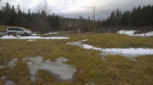 Lot of land ready for your home!