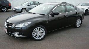 2008 Mazda 6 GH1051 Luxury Black Automatic Sedan Woodridge Logan Area Preview