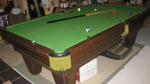 Brunswick Heritage Pool table with Professional move and instal