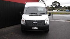 2012 Ford Transit VM MY12 Update High (LWB) White 6 Speed Manual Van Moorabbin Kingston Area Preview