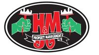 H-M Property Management & Professional Cleaning.