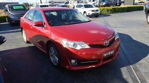 2014 Toyota Camry ASV50R Atara S Red 6 Speed Sports Automatic Sedan Taylors Beach Port Stephens Area Preview