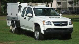 2011 Holden Colorado RC MY11 LX Space Cab White 5 Speed Manual Cab Chassis Winnellie Darwin City Preview