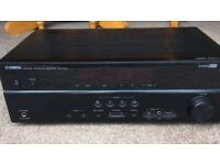 Yamaha RX V375 Amplifier with 5 Boston Surround Sound Speakers