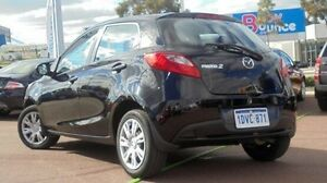 2012 Mazda 2 DE10Y2 MY12 Neo Black 4 Speed Automatic Hatchback Wilson Canning Area Preview