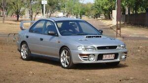 1998 Subaru Impreza N MY98 WRX AWD Silver 4 Speed Automatic Sedan Winnellie Darwin City Preview