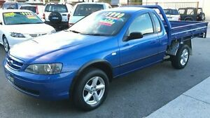 2003 Ford Falcon BA RTV LPG Blue 5 Speed Manual Underwood Logan Area Preview