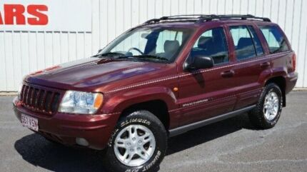 2001 Jeep Grand Cherokee WG MY2001 Limited Maroon 5 Speed Automatic Wagon
