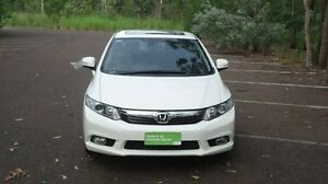 2012 Honda Civic 9th Gen Ser II Sport White 5 Speed Sports Automatic Sedan Winnellie Darwin City Preview
