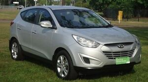 2013 Hyundai ix35 LM2 Active Silver 6 Speed Sports Automatic Wagon Winnellie Darwin City Preview