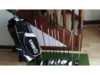 Childrens Golf Clubs and Bag