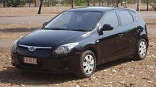 2010 Hyundai i30 FD MY10 SX Black 4 Speed Automatic Hatchback The Narrows Darwin City Preview
