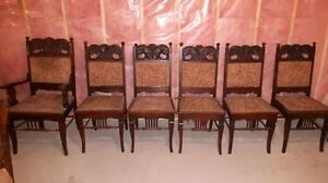 Antique dining chairs set of 6 Cornwall Ontario image 6