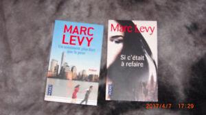 Marc Levy 4 livres propres pas cher