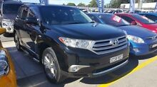 2013 Toyota Kluger GSU45R MY12 KX-S AWD Black 5 Speed Sports Automatic Wagon Pennant Hills Hornsby Area Preview