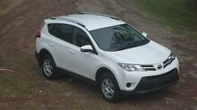 2014 Toyota RAV4 ASA44R MY14 GX AWD White 6 Speed Sports Automatic Wagon The Narrows Darwin City Preview