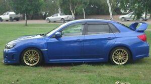 2013 Subaru Impreza G3 MY14 WRX AWD RS40 Blue 5 Speed Manual Sedan Winnellie Darwin City Preview