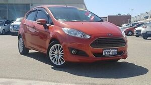 2014 Ford Fiesta WZ MY15 Sport Orange 5 Speed Manual Hatchback Morley Bayswater Area Preview