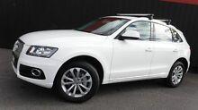 2012 Audi Q5 8R MY13 2.0 TFSI Quattro Ibis White 8 Speed Automatic Wagon Moorabbin Kingston Area Preview