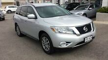 2013 Nissan Pathfinder R52 MY14 ST X-tronic 2WD Silver 1 Speed Constant Variable Wagon Bridgewater Adelaide Hills Preview