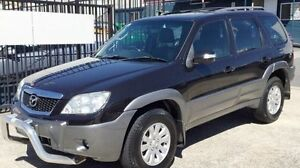 2006 Mazda Tribute LUXURY  AUTOMATIC Black 4 Speed Automatic Wagon Underwood Logan Area Preview