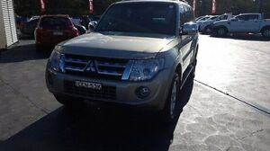 2011 Mitsubishi Pajero NT MY11 Platinum Edition Gold 5 Speed Auto Sports Mode Wagon Taylors Beach Port Stephens Area Preview