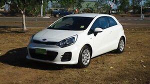 2015 Kia Rio UB MY15 S White 6 Speed Manual Hatchback Winnellie Darwin City Preview