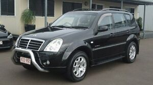 2007 Ssangyong Rexton Y220 II MY07 RX270 Sports Black 5 Speed Sports Automatic Wagon Winnellie Darwin City Preview