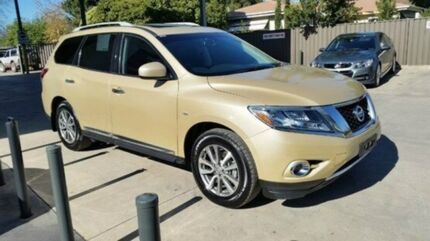 2014 Nissan Pathfinder R52 MY14 ST-L X-tronic 4WD Desert Dune 1 Speed Constant Variable Wagon Mansfield Mansfield Area Preview