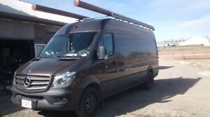 2015 MercedesSprinter CargoVan 3500HD Loaded, Trades Packages
