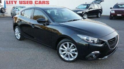 2014 Mazda 3 BM5238 SP25 SKYACTIV-Drive Black 6 Speed Manual Hatchback