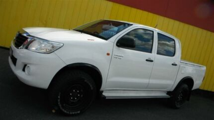 2013 Toyota Hilux GGN25R MY12 SR (4x4) 5 Speed Automatic Dual Cab Pick-up Moorabbin Kingston Area Preview