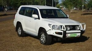 2012 Toyota Landcruiser VDJ200R MY12 GXL White 6 Speed Sports Automatic Wagon Winnellie Darwin City Preview
