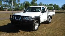 2010 Nissan Patrol GU 6 MY10 DX White 5 Speed Manual Cab Chassis Winnellie Darwin City Preview