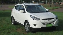 2013 Hyundai ix35 LM2 Active White 6 Speed Sports Automatic Wagon The Narrows Darwin City Preview