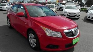 2013 Holden Cruze JH Series II MY13 CD Red 6 Speed Sports Automatic Hatchback Coolaroo Hume Area Preview
