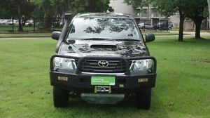 2014 Toyota Hilux KUN26R MY14 SR Double Cab Black 5 Speed Manual Utility Winnellie Darwin City Preview