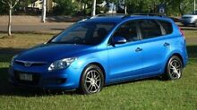 2010 Hyundai i30 FD MY10 SX cw Wagon Blue 5 Speed Manual Wagon The Narrows Darwin City Preview
