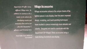 Christmas village accessory. Dept. 56 Heirloom going cheap. Kitchener / Waterloo Kitchener Area image 5