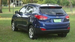 2014 Hyundai ix35 LM3 MY14 Active Blue 6 Speed Sports Automatic Wagon Winnellie Darwin City Preview