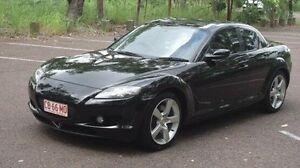 2007 Mazda RX-8 FE1031 MY06 Black 6 Speed Manual Coupe Winnellie Darwin City Preview
