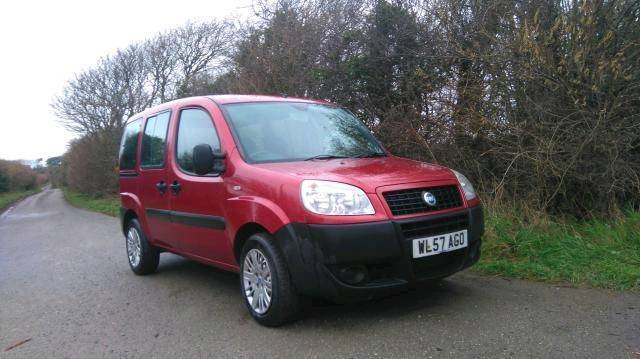 Fiat Doblo 07 Day Van Boot Conversion Feb 2019 MOT