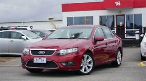 2009 Ford Falcon FG G6 Limited Edition Red 5 Speed Sports Automatic Sedan Mentone Kingston Area Preview
