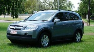 2010 Holden Captiva CG MY10 CX AWD Grey 5 Speed Sports Automatic Wagon Winnellie Darwin City Preview