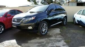 2011 Lexus RX450H SPORTS LUXURY Black Automatic Wagon Lansvale Liverpool Area Preview