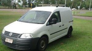 2010 Volkswagen Caddy 2KN SWB White 5 Speed Manual Van Winnellie Darwin City Preview