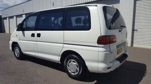 2001 Mitsubishi Starwagon WA GLX White 4 Speed Automatic Wagon Wodonga Wodonga Area Preview