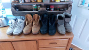 timberland boots and air Jordans