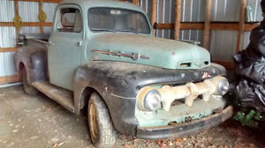 Wanted 1951-1952 Ford F-1 or Mercury M-1 Truck