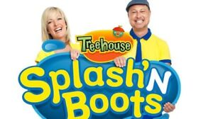 Splash'N Boots – Sunday December 23 – Orchestra 3, Row A